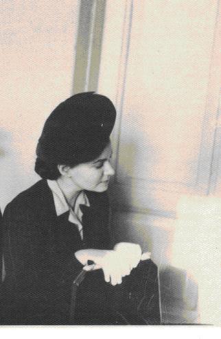 Юлия Киргоф в 1953 году